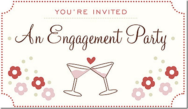 engagement party invite