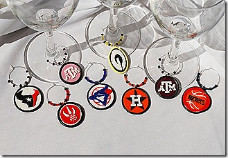 More sports themed charms