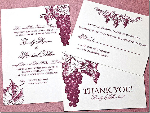 wedding invites etsy grapes 10.14.12