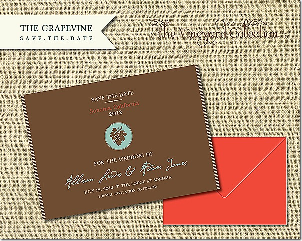 wedding invites etsy sonoma 10.14.12