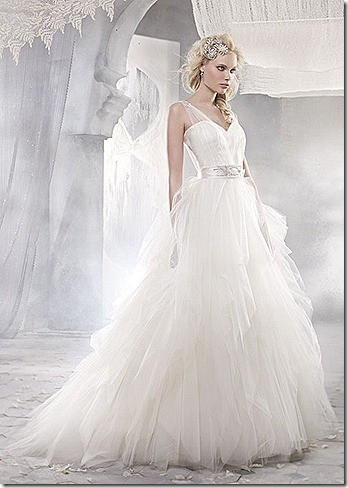 model wedding dress
