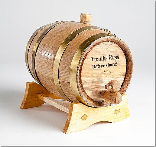 bourbon-barrel gift idea