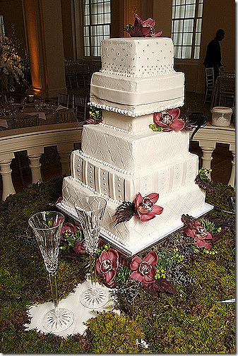 wedding cake tulips
